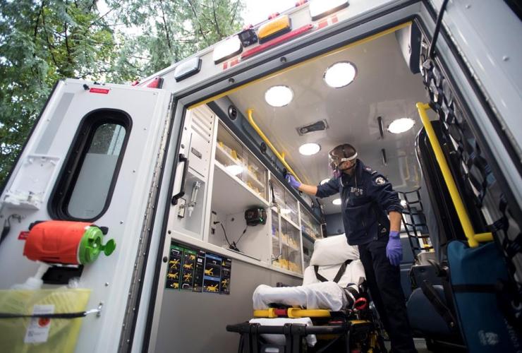 B.C. Ambulance paramedic Jeff Booton,