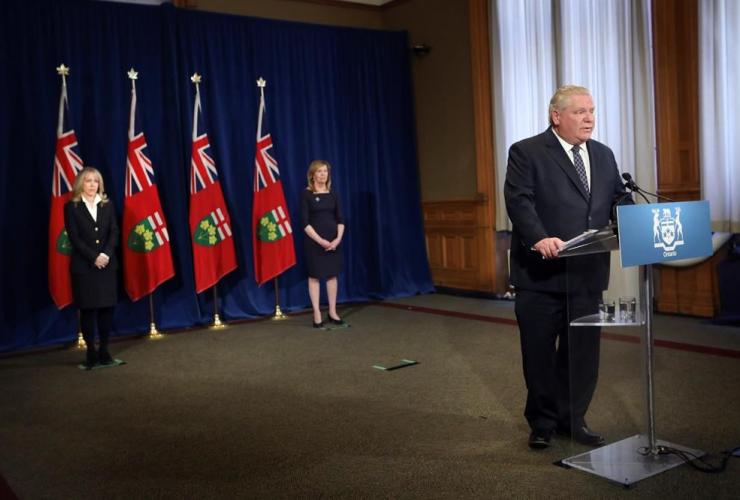Ontario Premier Doug Ford,