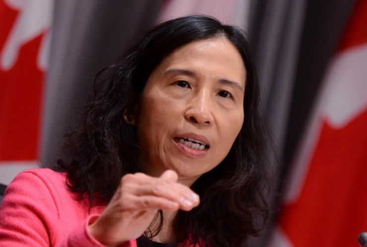 Dr. Theresa Tam, Canada's Chief Public Health Officer,