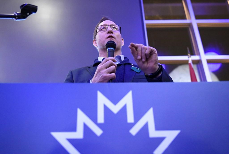 Conservative leadership candidate Peter MacKay,