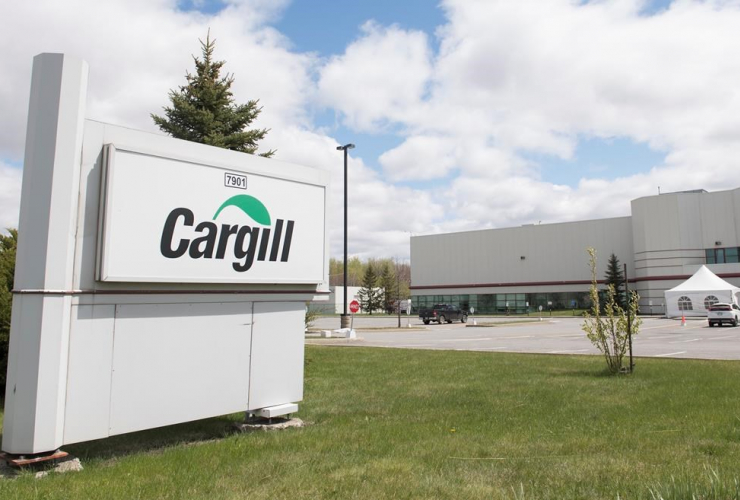 Cargill, meat processing plant, Chambly, Que., Montreal,