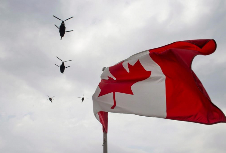 Canadian Forces, CH-47 Chinook helicopters,
