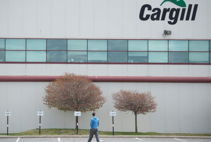 Cargill meat processing factory, Chambly,