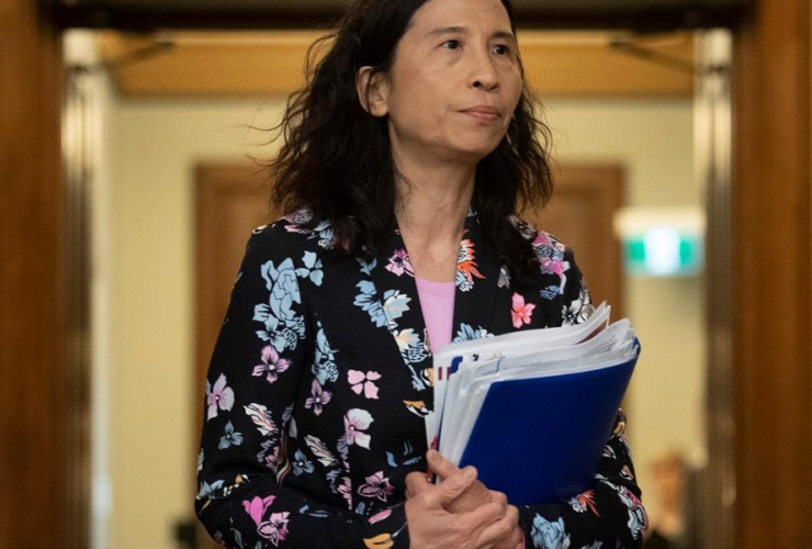 Canada's Chief Public Health Officer Theresa Tam,