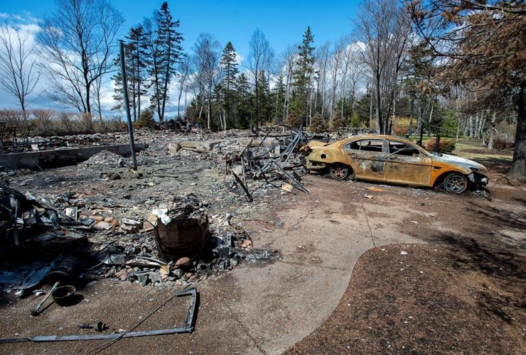 fire-destroyed property, Gabriel Wortman, Portapique Beach Road,