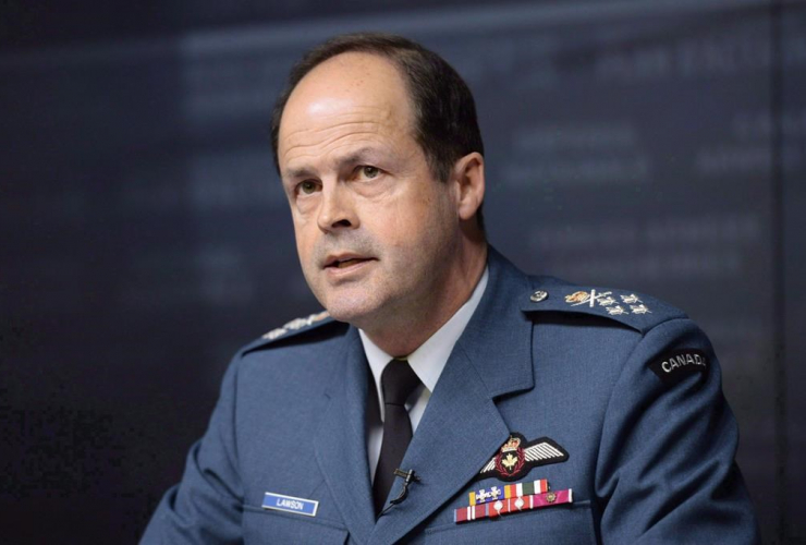 General Tom Lawson, Chief of the Defence Staff,