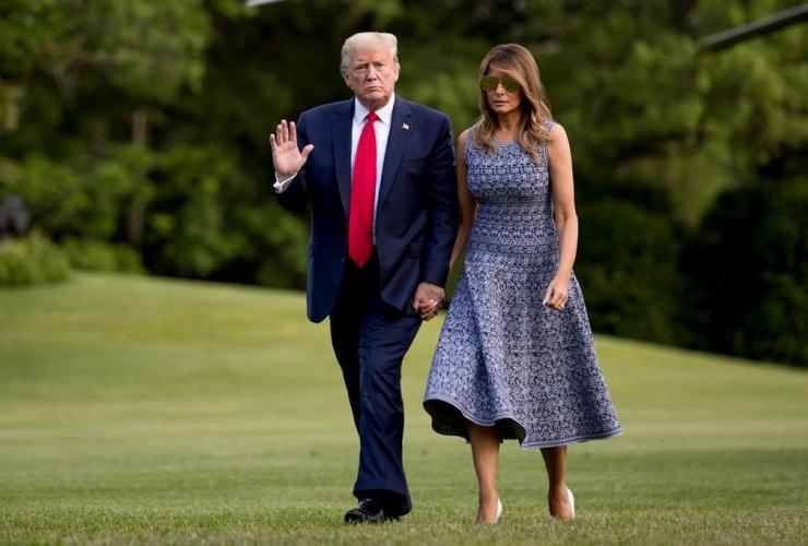 President Donald Trump, Melania Trump,
