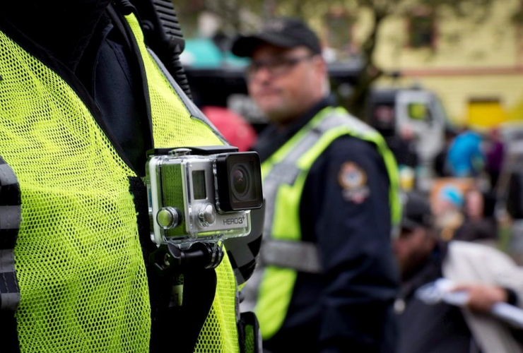 Vancouver Police Department, chest mounted camera,