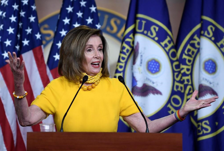 House Speaker Nancy Pelosi,