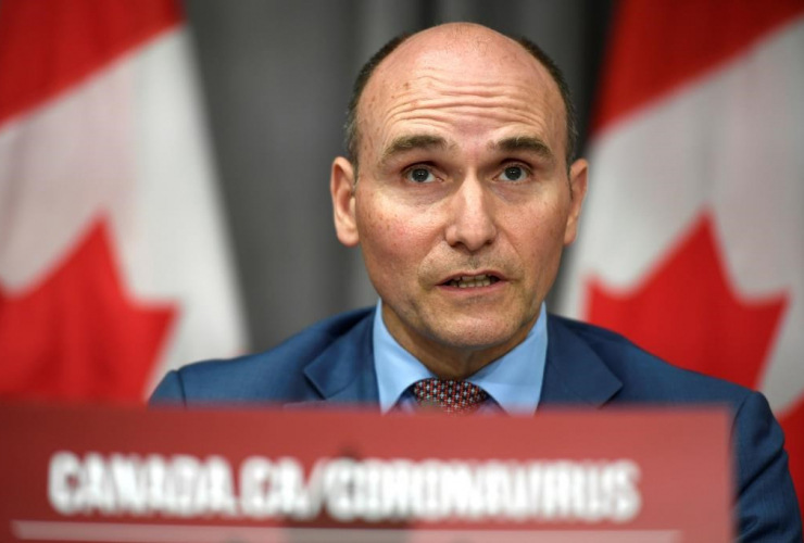 President of the Treasury Board, Jean-Yves Duclos,