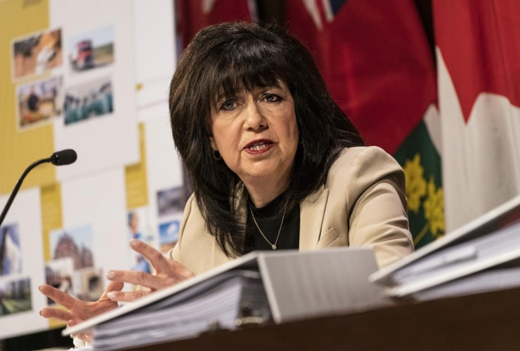 Ontario Auditor General Bonnie Lysyk,
