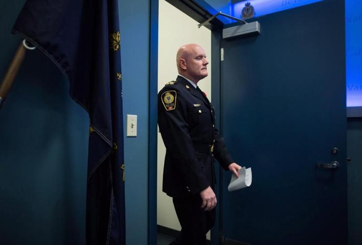 Vancouver Police Chief Adam Palmer,
