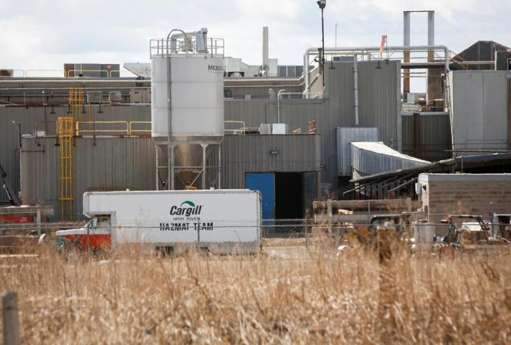 Cargill beef plant, High River, Alta.,