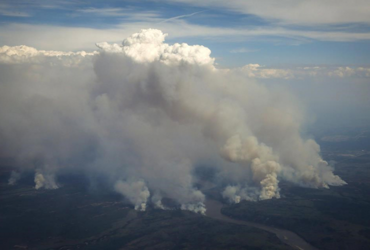 Wildfires, Fort McMurray, Alta.,