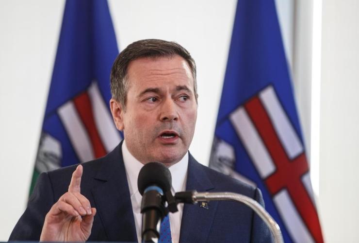 Alberta Premier Jason Kenney,