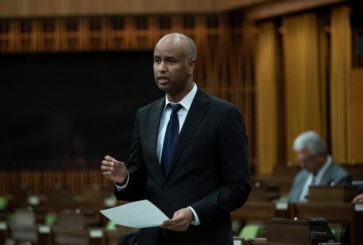 Social Development Minister Ahmed Hussen,