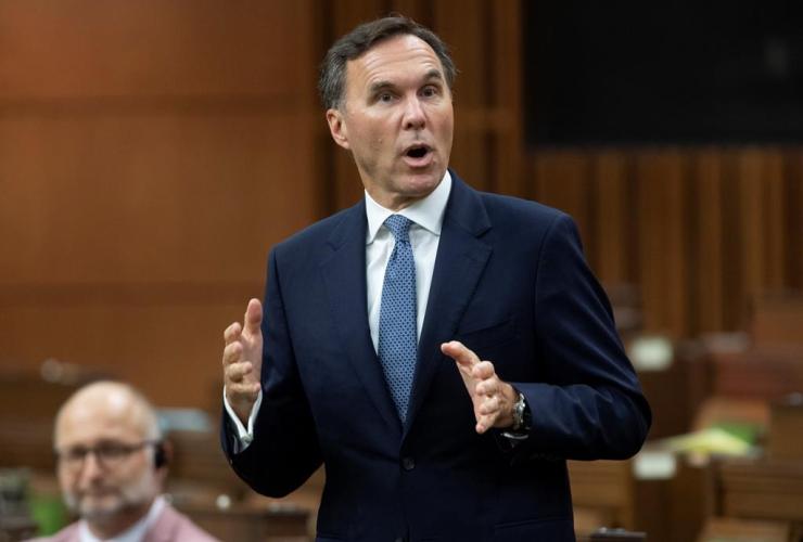 Finance Minister Bill Morneau,