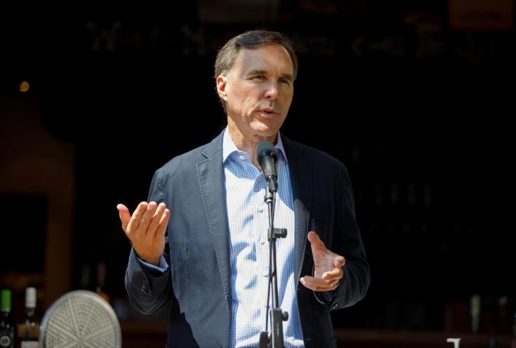Minister of Finance Bill Morneau,