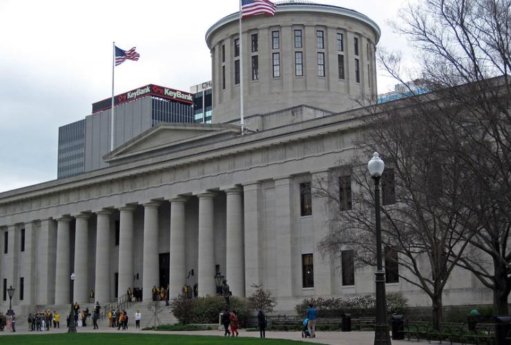 Ohio Statehouse, Columbus, Ohio, USA,