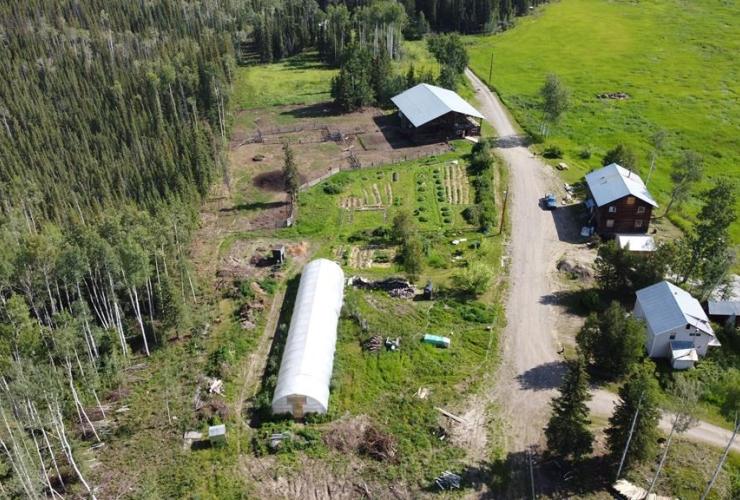 farm, Dawson City, Yukon,