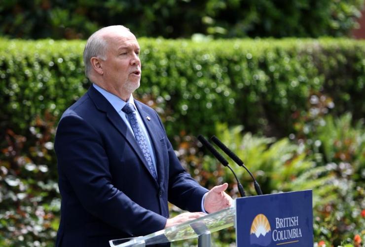 B.C. Premier John Horgan,