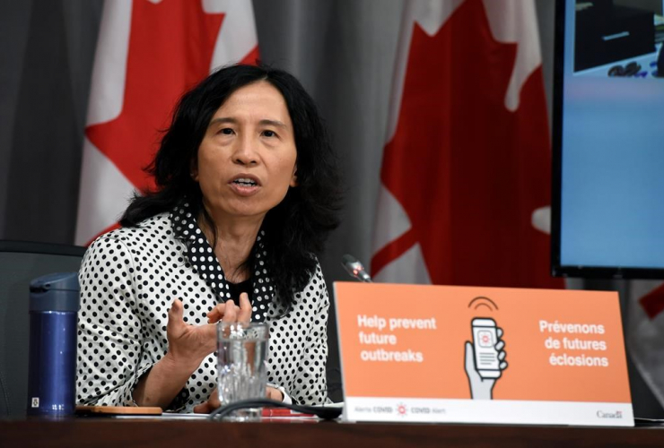 Chief Public Health Officer of Canada, Dr. Theresa Tam,