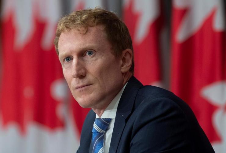 Indigenous Services Minister Marc Miller,