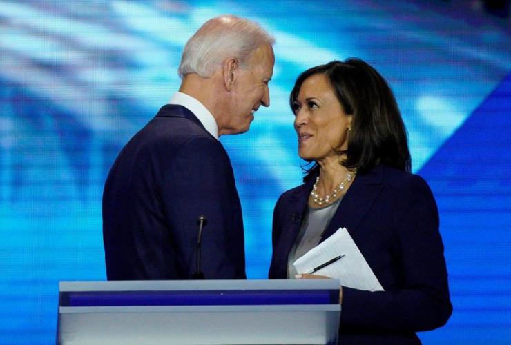Joe Biden, Kamala Harris,
