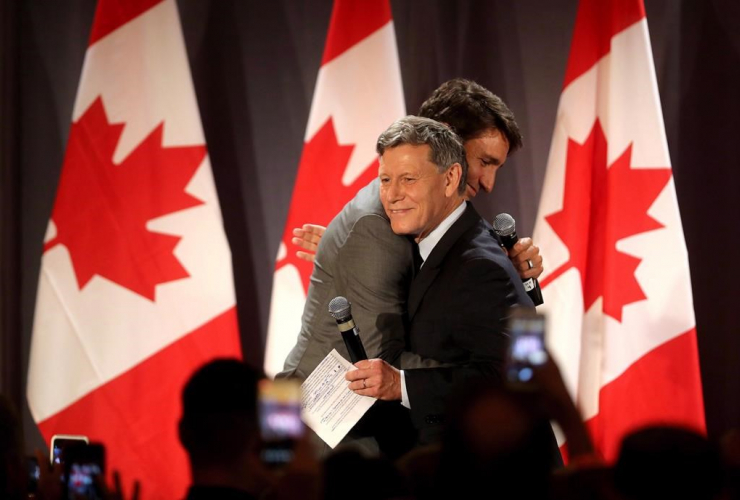 Prime Minister Justin Trudeau, Terry Duguid,