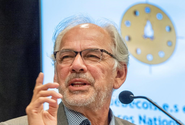 Ghislain Picard, Chief of the Assembly of First Nations Quebec-Labrador,