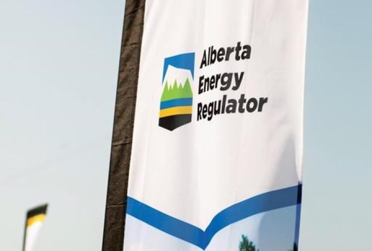 Alberta Energy Regulator logo,