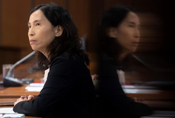 Chief Public Health Officer Dr. Theresa Tam,
