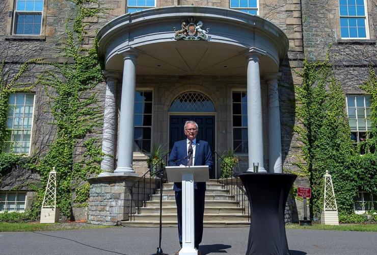 New Brunswick Premier Blaine Higgs,