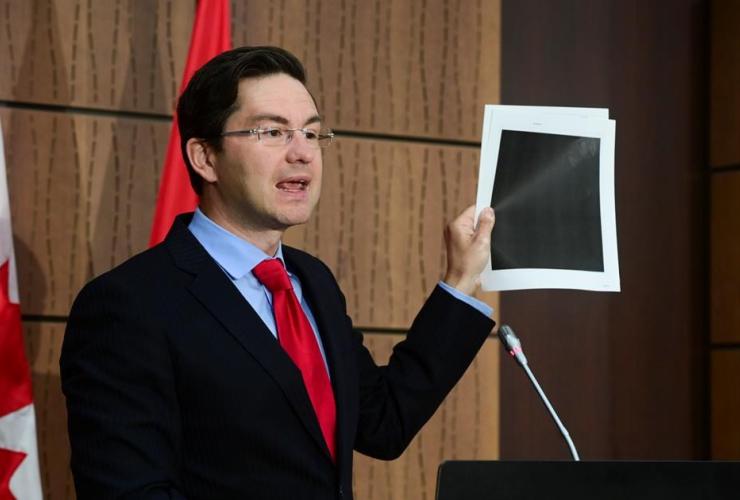 Conservative MP Pierre Poilievre,