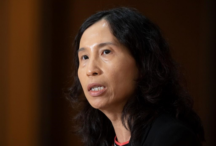 Chief Public Health Officer Theresa Tam,
