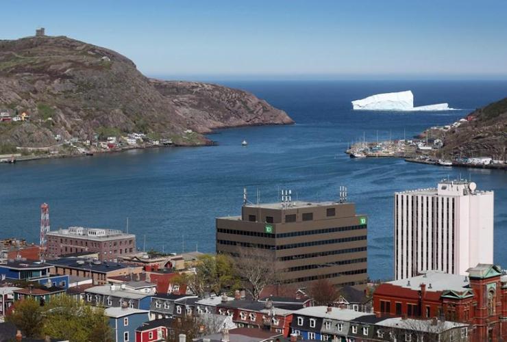 iceberg, St. John's Harbour,