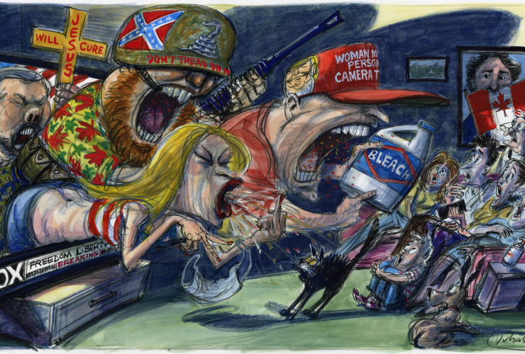 Victor Juhasz commentary on Trump and Canada