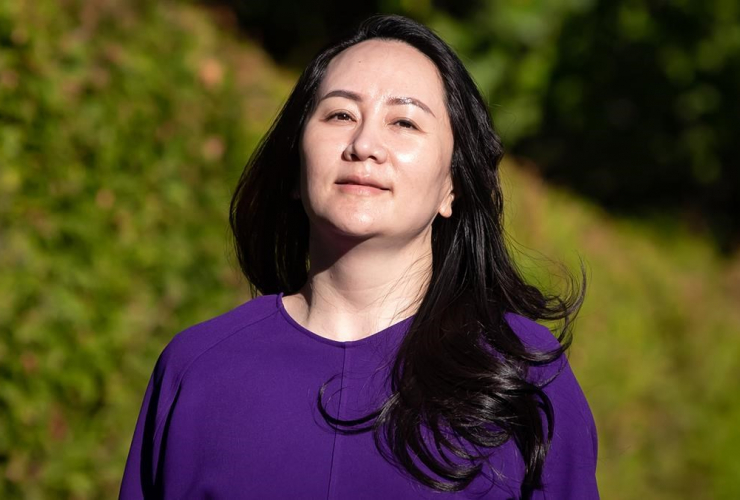 Meng Wanzhou, chief financial officer of Huawei,