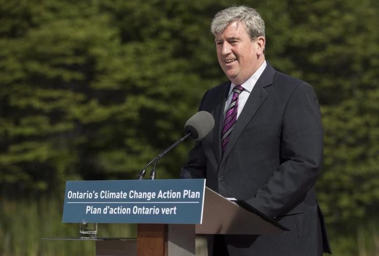 Glen Murray, Ontario, environment minister, Toronto,