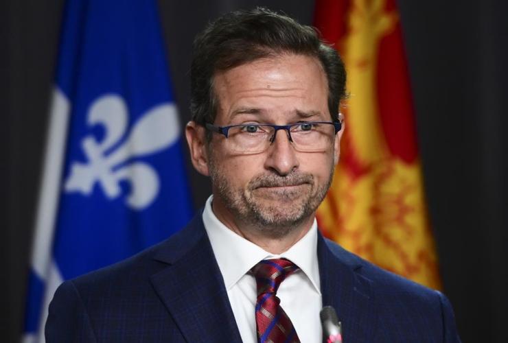 Bloc Quebecois Leader Yves-Francois Blanchet,