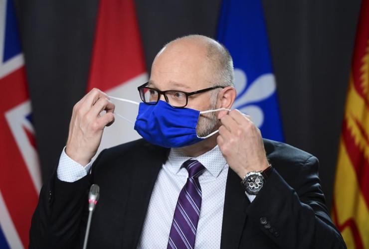 Justice Minister, Attorney General of Canada, David Lametti,