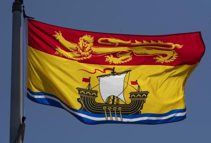 New Brunswick's provincial flag,