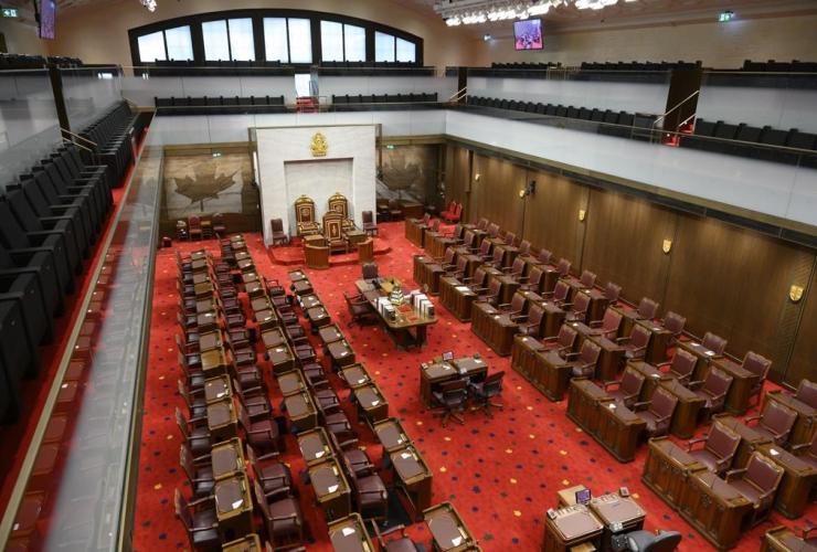 Senate of Canada building, Senate Chamber,