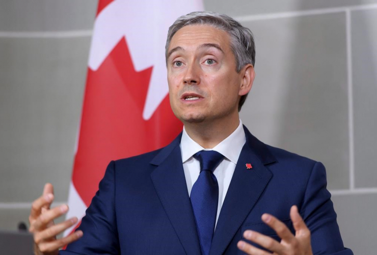 Canadian Foreign Minister Francois-Philippe Champagne,