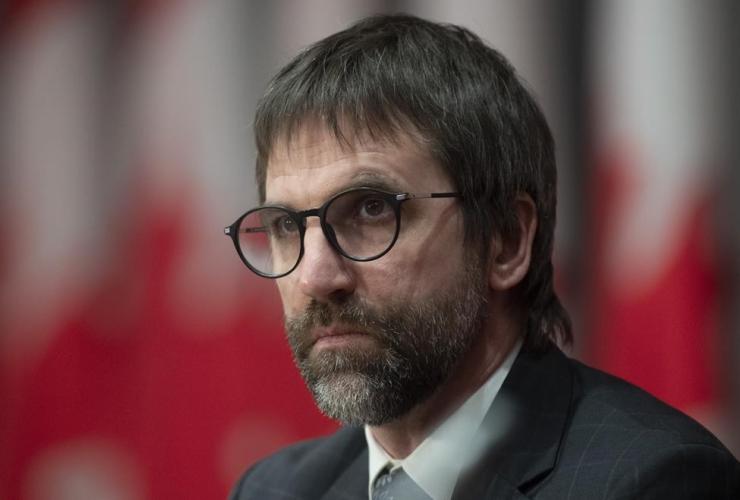 Minister of Canadian Heritage, Steven Guilbeault,