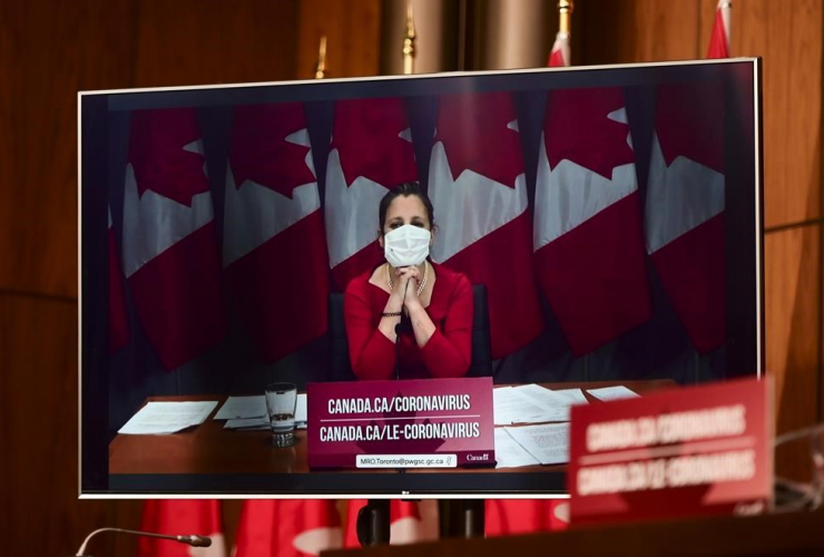 Minister of Finance Chrystia Freeland,