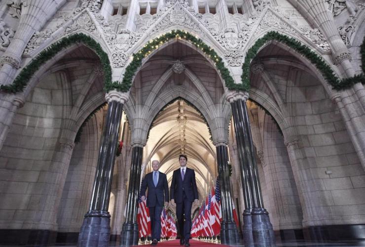 Prime Minister Justin Trudeau, Joe Biden,