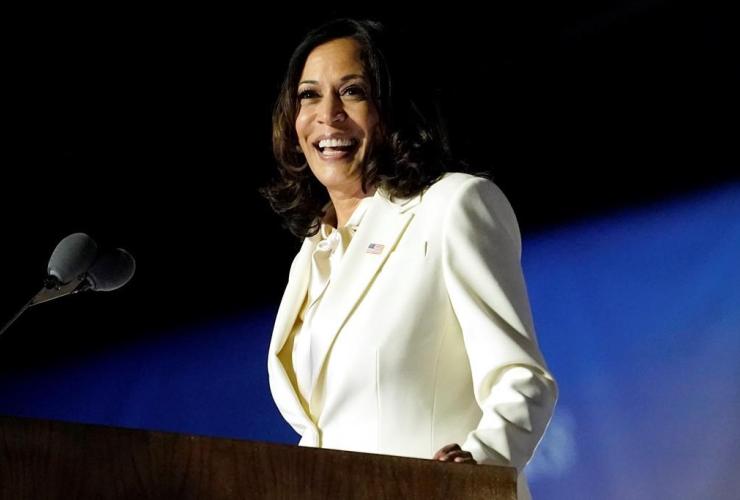 Vice president-elect Kamala Harris,