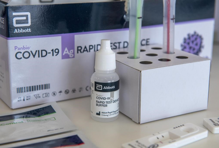 COVID-19, Rapid Test Device kits, Humber River Hospital, Toronto,