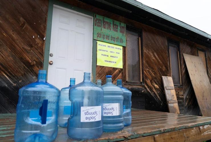Water bottles,
